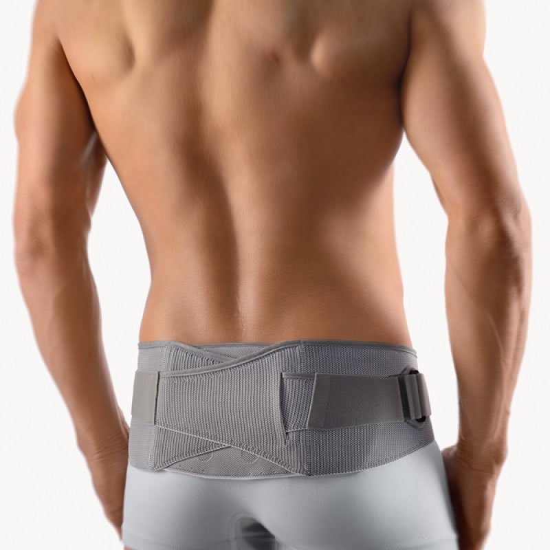 Wearing a sacroiliac brace helps in the treatment of sacroiliac pain (sacrodynia) and arthrosis of the sacroiliac joint (articulation).